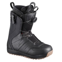 Salomon - Launch BOA SJ Black Gum Mens Snowboard Boots
