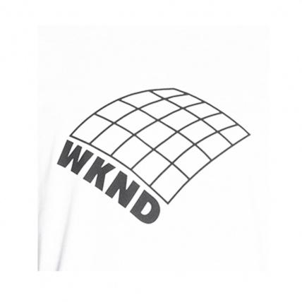 WKND Skateboards On A Plain T-Shirt White Logo