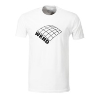 WKND Skateboards - On A Plain T-Shirt White