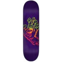 Santa Cruz -  Skateboard Deck Throwdown Hand Purple 7.75in