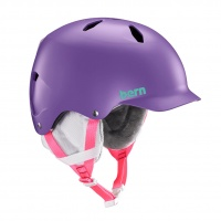 Bern - Bandito EPS Satin Purple Junior Snow Helmet