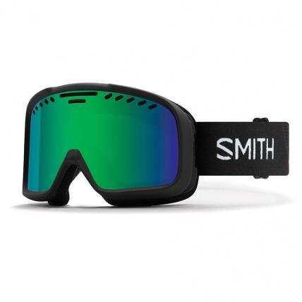 Smith Project Black Green SolX Mirror Snow Goggles