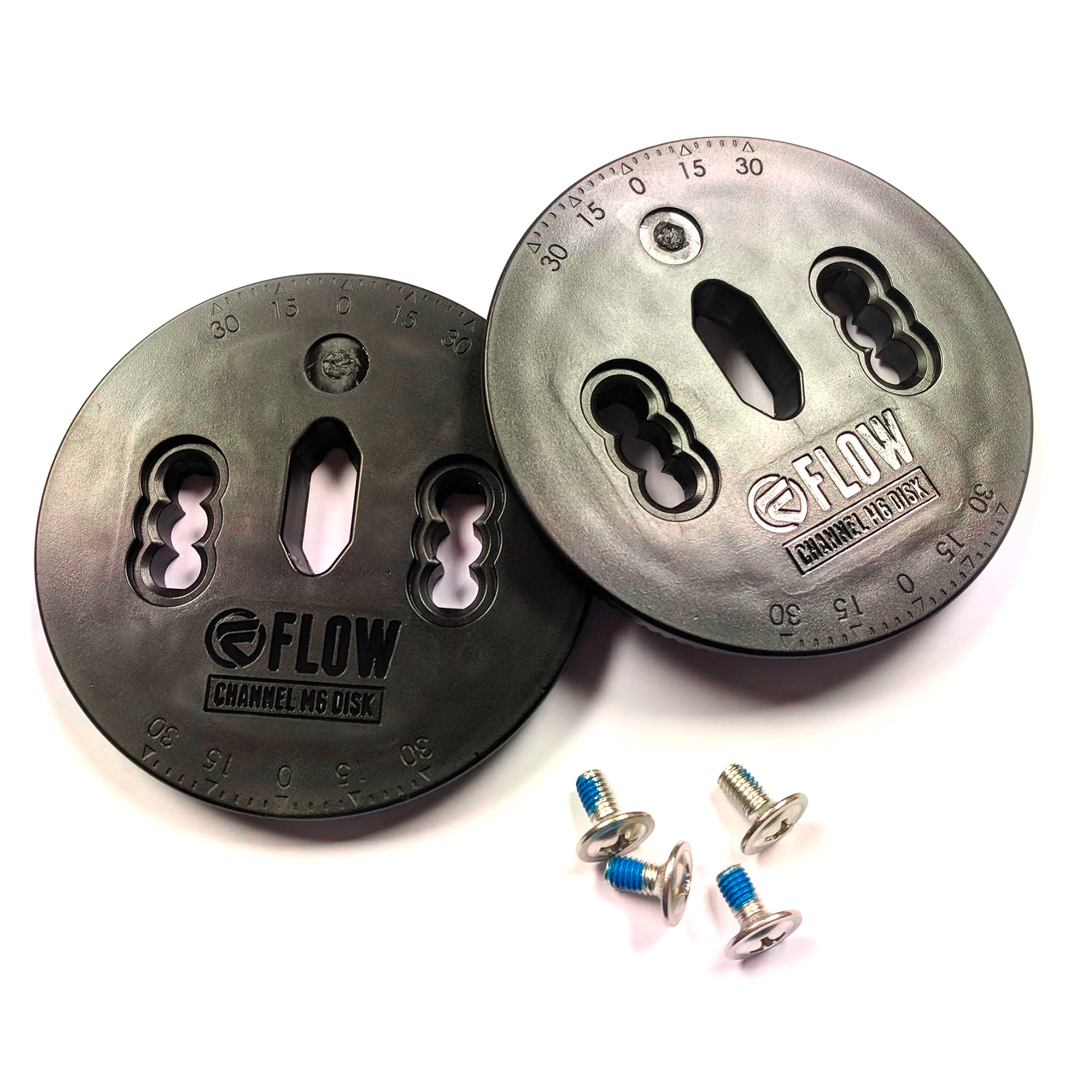 Flow Channel Disk Set M6 Binding Disc