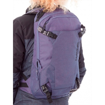 Dakine Heli 12 Seashore Womens Backpack On Back