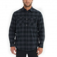 Burton - Brighton Flannel Shirt Black Heather Buffalo