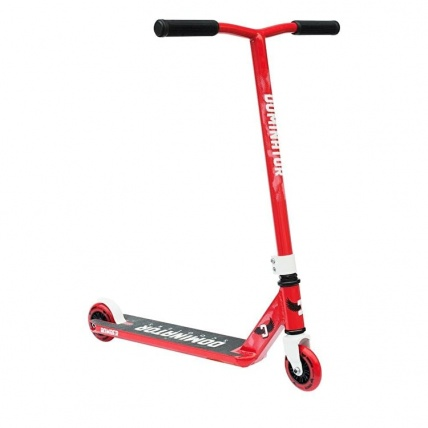 Dominator Bomber Junior Stunt Scooter Red and White