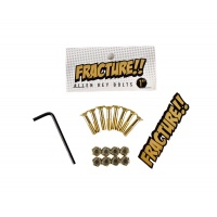 Fracture - 1.0in Skateboard Hardware Gold Allen