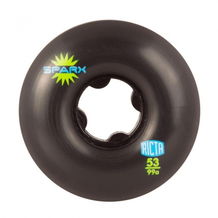 Ricta Sparx Skate Wheels Black 99a 53mm