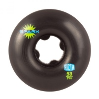 Ricta - Sparx Skate Wheels Black 99a 53mm