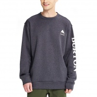 Burton - Oak Mens Crew Sweatshirt True Black Heather