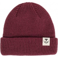 Tilt - T-Bolt Beanie in Burgandy