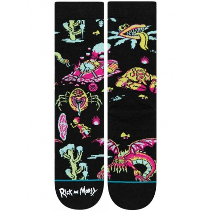 Stance skateboard classic crew swock Rick and Morty R&M crash landing
