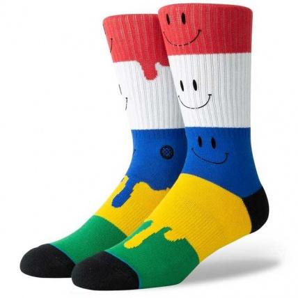Stance Foundation Face Melt skate sock