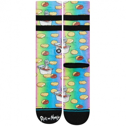 Stance R&M Rick and Morty Dipping Sauce Skateboarding Sock