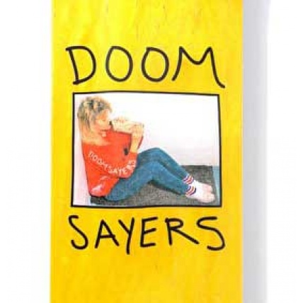 Doom Sayers Becky Skateboarding Deck 8.28