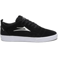 Lakai - Bristol Black and White Skate Shoe
