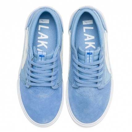 Lakai Griffin Light Blue Childrens Skate Shoe Trainer