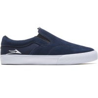 Lakai - Owen Kids Navy Suede Skate Shoe Trainer