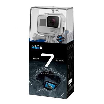 GoPro HERO7 Black Disk White Edition Box