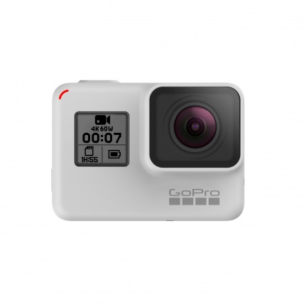 GoPro HERO7 Black Disk White Edition Front