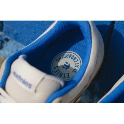 Ethnies Marana Skateshoe Skateboard Trainers White Blue and Gum