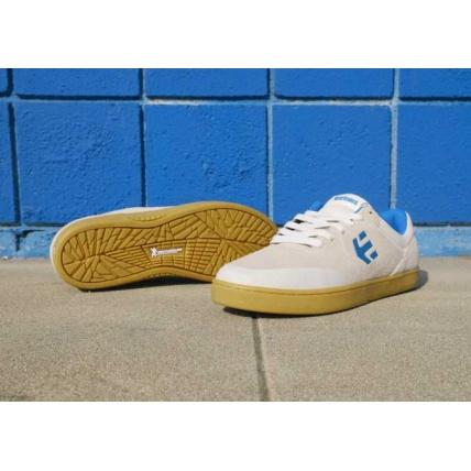 Ethnies Marana Skateshoe Skate shoe Trainers White Blue and Gum