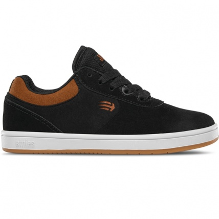 Joslin Kids Skate Skateboarding Shoe Trainer in Black and Brown