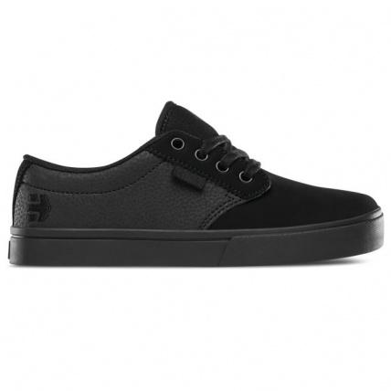 Etnies Jameson 2 Eco Kids Skate Shoe trainer in Black
