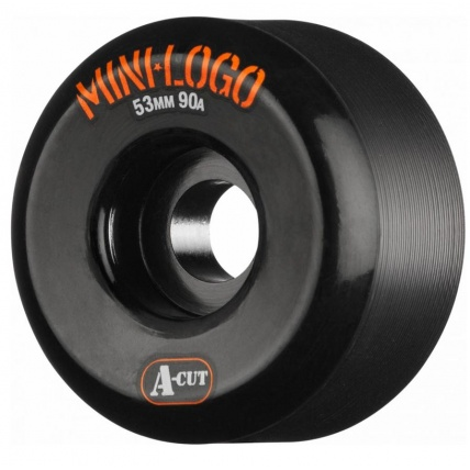 Mini Logo Skate Skateboard Wheels Hybrid A-Cut 53 X 90a Black 53mm