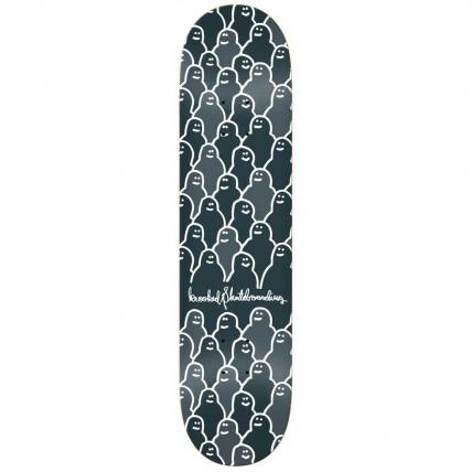 Krooked PP Skateboard Deck Krouded 8.25 Charcoal