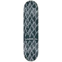 Krooked -  PP Skateboard Deck Krouded 8.25 Charcoal