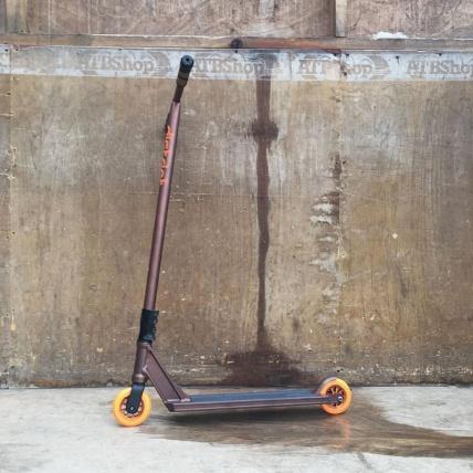 District custom HT-series stunt street trick scooter adult tall river wheels deck