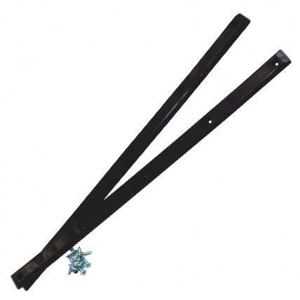 Pig Wheels Skate Deck Rails Decksavers - Black