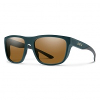 Smith - Barra Sunglasses Matt Deep Forest Brown ChromaPop Polarised