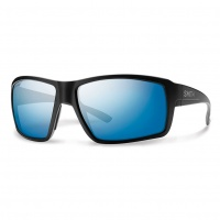 Smith - Colson Sunglasses Matt Black Blue Mirror ChromoPop Polarised