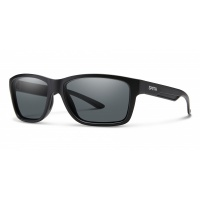 Smith - Harbour Matte Black Grey Carbonic Lens Sunglasses