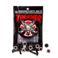 Independent - Thrasher Bolts Phillips Black Silver