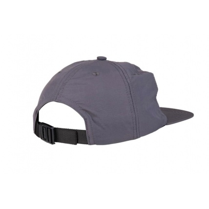 Independent Co. Trucker Skate Cap Strapback Charcoal Rear