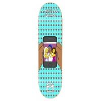Sk8Mafia - Skateboard Deck Gray Pimpsuns 8.25