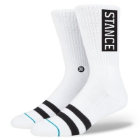 Stance - Uncommon OG Classic Crew White Skate Socks