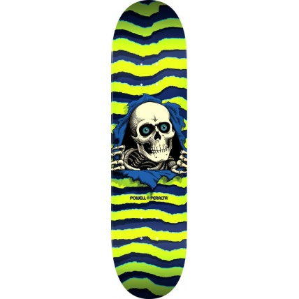 Powell Peralta Ripper Popsicle Deck 8in Lime Green