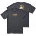 Primitive X DBZ Super Saiyan Goku T-Shirt Charcoal