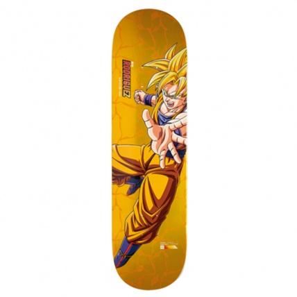 Primitive X DBZ Paul Rodriguez Super Saiyan Goku 8.5in