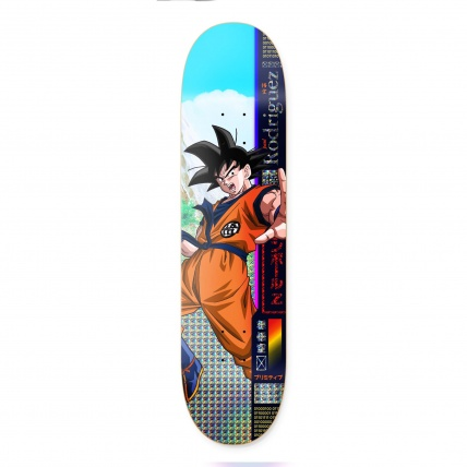 Primitive X DBZ Paul Rodriguez Goku Skate Deck 8.0in