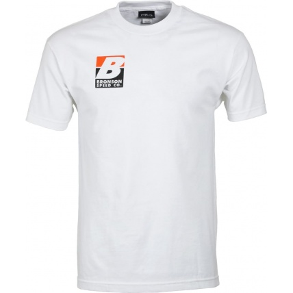 Bronson Big B T-Shirt Mens White Front