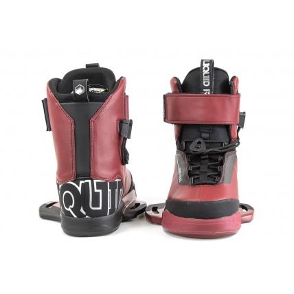 Liquid Force LFX Oxblood Boots Front Rear
