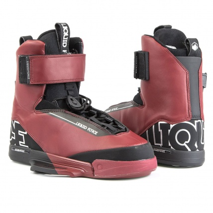 Liquid Force LFX Oxblood Boots Kitesurf Bindings