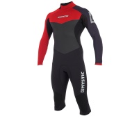 Mystic - Drip 4/3mm Bordeaux Long Arm Short Leg Wetsuit