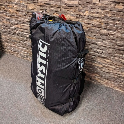 Mystic Kite Storage Compression Bag with Straps  Packed