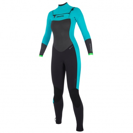 Mystic Dutchess 5/4mm Mint Womens Full Front Zip Wetsuit